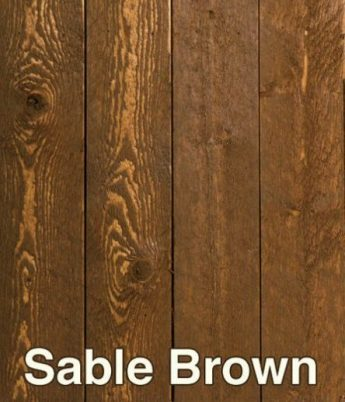 Semi-Transparent Deck Stain: 808409 - Sable Brown // Fence Protector Staining & Sealing