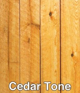 Transparent Deck Stain: 809501 - Cedar Tone // Fence Protector Staining & Sealing